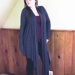 N/P Thin Knit Cardigan Duster One Size